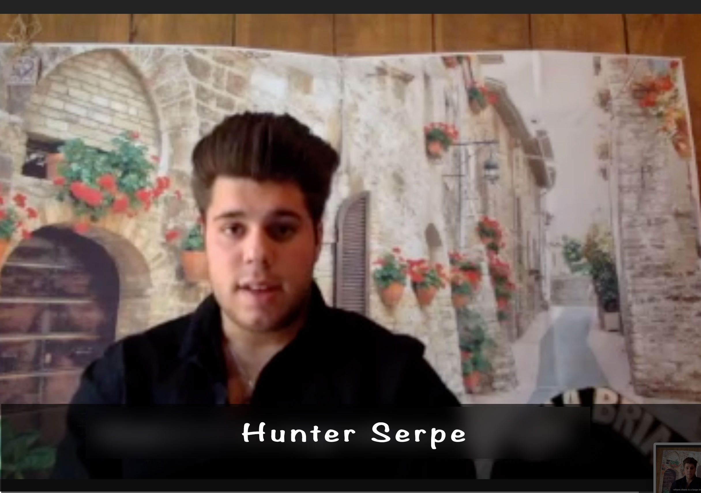 Ciao Cosenza! – Family Stories, Hunter Serpe