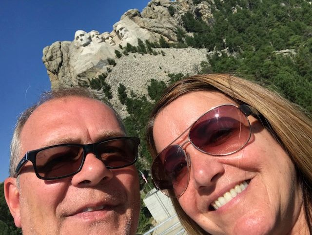 Ciao from Mount Rushmore